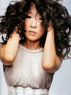 Sandra Oh. (I'm a little obsessed with Grey's these days. But she's just about one of the best actresses on tv. Ever.)