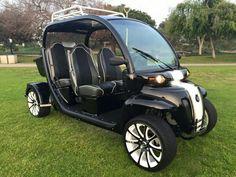 Custom gem car by Innovation Motorsports Gem Cars, Custom Golf Carts, Electric Motor, Custom Cars, Atv, Motors, Antique Cars, Innovation, Washington