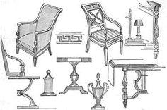 DIRECTORIO. Las líneas de los muebles de este período son más sencillas y desaparecen muchos adornos.