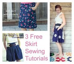 Simple Summer Skirt Sewing Tutorials
