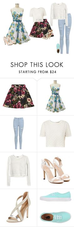 """""""Easter Inspired"""" by hanakdudley ❤ liked on Polyvore featuring Girls On Film, Miss Selfridge, Orla Kiely, Rebecca Taylor, BCBGMAXAZRIA and Vans"""