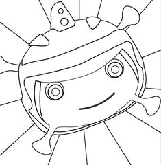 It is a picture of Fabulous floogals coloring pages