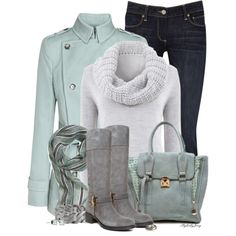 A fashion look from December 2013 featuring Mint Velvet sweaters, Reiss and Paige Denim jeans. Browse and shop related looks. Outfits Winter, Casual Outfits, Cute Outfits, Casual Wear, Soft Summer, Winter Wear, Autumn Winter Fashion, Winter Boots, Cute Fashion