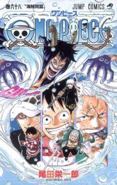 Couverture de One Piece tome 68 : L'Alliance des Pirates