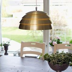 Genuine Scandinavian Rise and Fall Pendant in 11 colours including brass and silver. Unrivalled build quality and materials for lamps up to 100 watts. Berlin Design, Modern Pendant Light, Cebu, Kugel, Messing, Scandinavian Style, Ceiling Lights, Colours, Lighting