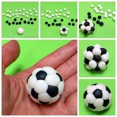 3D Sugar Soccer Ball Tutorial