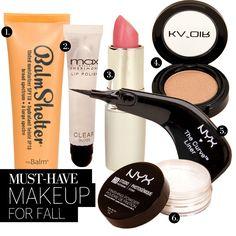 Fall Makeup Essentials via lulus.com