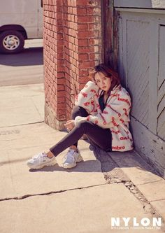 Kim So Hyun has an amazing pictorial in the October version of Nylon, check it out! Kim So Hyun Fashion, Korean Fashion, Lets Fight Ghost, Kim Sohyun, Park Bo Young, Korean Star, Korean Actresses, The Duff, The Girl Who