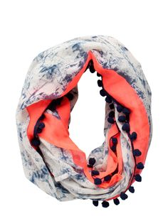 ABSTRACT PRINTED TUBE SCARF - Pieces