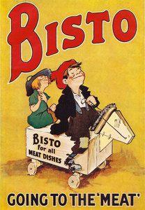 ADVERT/BISTO KIDS 1929 as a 16 (41cm) Canvas Print