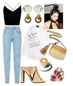 """Taliah."" by vcvintage on Polyvore featuring Vivienne Westwood Anglomania, Gucci, Forte Couture, Boohoo, Tom Ford and Sonia Rykiel"