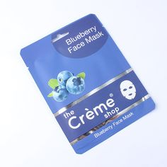 MISS A :: No.1 Accessory Shop :: COSMETICS :: Face & Body :: Anti-Aging Blueberry Face Sheet Mask