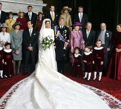 Mariage maxima et willem alexander le 2 février 2002
