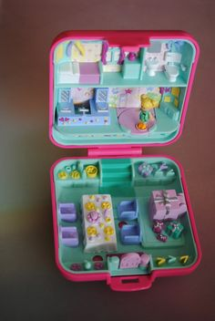 Vintage polly pocket 1989 party time by WeAreLikeShadows on Etsy