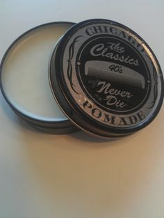 This pomade smells like vanilla pipe tobacco. because Regular pomades are too mainstream Mens Pomade, Hair Pomade, Grease Hairstyles, Cool Hairstyles, Rockabilly Men, Unrefined Shea Butter, Dapper Dan, Male Grooming, Hair Gel