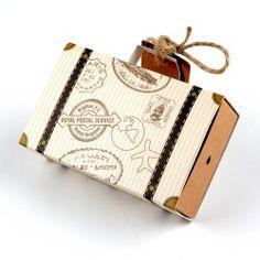 Candy box Valigia Segnaposto