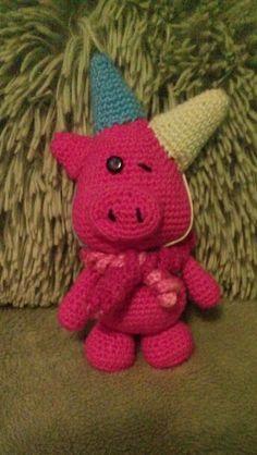 """Häkeln-Crochet """"Partyschwein"""""""