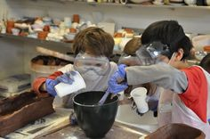 Ceramics Techniques for Juniors, 10 week course on Saturdays, 22 September - 1 December at Camden Arts Centre, London. Suitable for ages 8-11 years and £95/£190. Click for more information and to book a place.