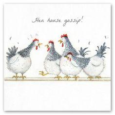 Cards » Hen House Gossip » Hen House Gossip - Berni Parker Designs