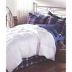 Down Alternative Comforter $110 for #fallhouseguests