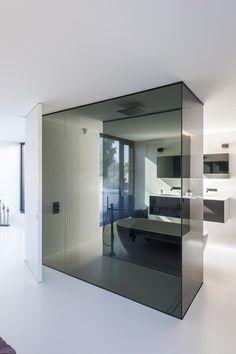 Contemporary Bathroom Design - Interior Decor and Designing Bad Inspiration, Bathroom Inspiration, Bathroom Ideas, Bathroom Organization, Home Interior, Bathroom Interior, Interior Designing, Interior Modern, White Bathroom
