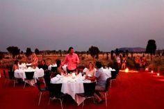 Uluru (Ayers Rock) Sounds Of Silence dinner #Australia