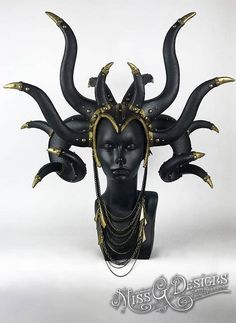 Black Horn Headpiece