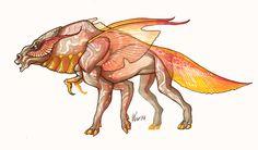 oasitic horse by VentralHound.deviantart.com on @DeviantArt