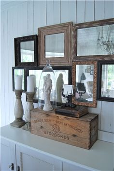 # decoration love the different frames touching