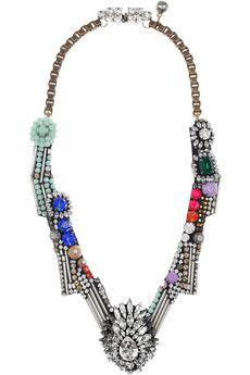 Shourouk Dynasty crystal necklace
