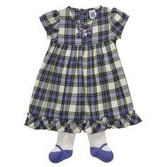 Carter's Plaid Dress Set