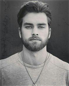 Pierson Fode - hair, eyebrows and facial hair. Full Eyebrows, Mullet Hairstyle, Hairy Hunks, Awesome Beards, Inspirational Celebrities, Beard No Mustache, Boy Hairstyles, Hair And Beard Styles, Male Face
