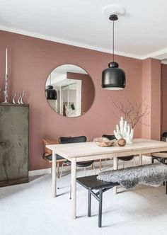 The most beautiful interior with Dusty Pink walls, .- The most beautiful interior with Dusty Pink walls, beautiful Source by - Living Room Paint, Interior Design Living Room, Living Room Decor, Kitchen Interior, Design Interior, Bedroom Decor, Pink Walls, Pink Kitchen Walls, Room Colors