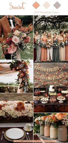 Top 10 Wedding Colors for 2019 Trends with Bridesmaid Dresses #wedding #weddinginspiration #bridesmaids #bridesmaiddress #bridalparty #maidofhonor #weddingideas #weddingcolors #tulleandchantilly