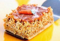 torta de zanahoria: Torta de zanahoria en microondas