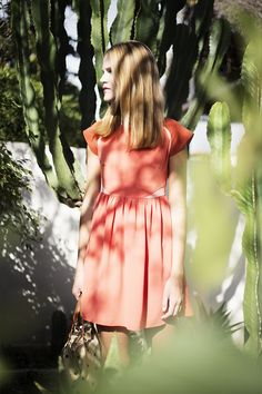 DRESS MAGNOLIA CORAL http://www.shoptitis.com/shop/es/vestidos/309-dress-magnolia-coral.html