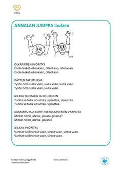 Tuolijumppa | Vahvike Kindergarten, Projects To Try, Bullet Journal, Sport, Deporte, Sports, Kindergartens, Preschool, Preschools