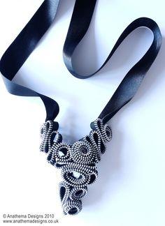 Zip jewellery.