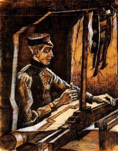 Il tessitore di Vincent Van Gogh 1884