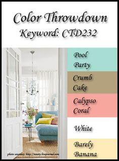 Color Throwdown: Color Throwdown #232