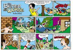For Better or For Worse Comic Strip by Lynn Johnston Bad Comics, July 14, Comic Strips, Little Boys, Sunday, Guys, Toddler Boys, Comic Books, Men