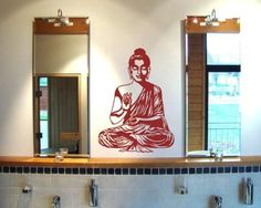Wandtattoo Buddha. Wandtattoo 'Buddha' ab Größe 50 cm