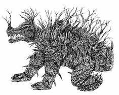 Image result for Anguirus Classic Monsters, Sculpting, Steampunk, Moose Art, Lion Sculpture, Dragon, Concept, Statue, The Originals