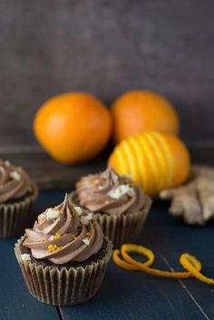 Vegan Chocolate Orange Cupcakes - Recipe | The Kitchn