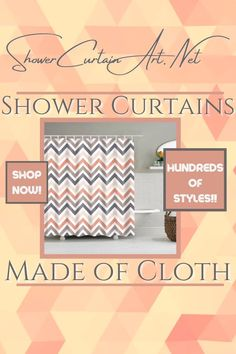 Drastically enhance your bathroom decor with a soft & stylish fabric shower curtain from Shower Curtain Art. Shower Curtain Art, Modern Shower Curtains, Bathroom Curtains, Fabric Shower Curtains, Man Cave Bathroom, Downstairs Bathroom, Shower Accessories, Bathroom Fixtures, Bathroom Furniture