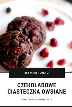 Easy Eat, Polish Recipes, Healthy Sweets, Sweet And Salty, Deserts, Food And Drink, Tasty, Cookies, Chocolate