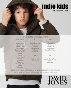 winter 13 catalogue. page 16. www.industriekids.com.au