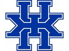 """ Waiting for kickoff fun with logos. New UK logo rotated and placed on top of itself:"" Basketball Tickets, Best Basketball Shoes, Basketball Goals, Basketball Quotes, Basketball Court, Wildcats Basketball, Kentucky Basketball, Uk Logo, Team Logo"
