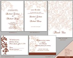 Free Wedding Invitation Templates For Word   Wedding Photos
