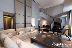 The Armani Signature Suite at the Armani Hotel Milano